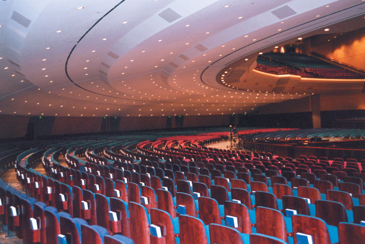 Robertson-Curtis-Commercial-Painting-and-Decorating_PCC-Crowne-Centre-Pensacola-Florida-Auditorium-Celiing-and-Seats