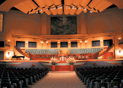 Robertson-Curtis-Commercial-Painting-and-Decorating_PCC-Crowne-Centre-Pensacola-Florida-Main-Auditorium-Stage-View