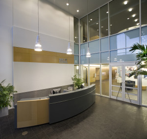 Navy Federal Credit Union NFCU Home Office Penascola Florida B2 Interior - Security Lobby reduced