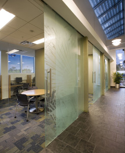 Navy Federal Credit Union NFCU Home Office Penascola Florida B3 Interior - Interview Rooms reduced