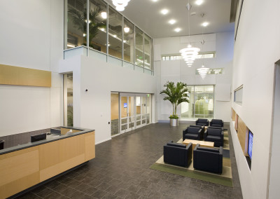 Navy Federal Credit Union NFCU Home Office Penascola Florida B3 Interior - Security Lobby reduced