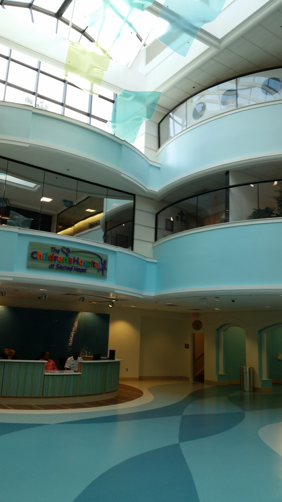 Childrens Hospital Sacred Heart Pensacola Florida interior