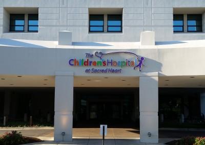 The Children's Hospital at Sacred Heart Pensacola Florida