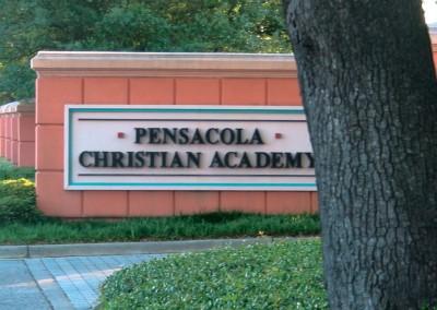 Pensacola Christian Academy PCA-Sign