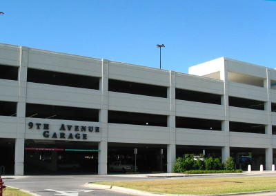 Sacred Heart Parking Garage Pensacola Florida